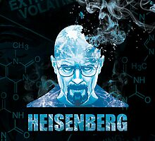 Heisenberg Blue Crystal for iPad Case by Yakei