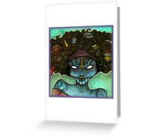 Chalk Portraits ~ Part Nineteen Greeting Card