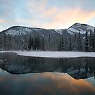 Winter Pond by Justin Atkins