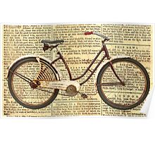 Newspaper Cycle Poster