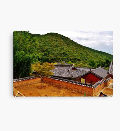Korean Temple Canvas Print
