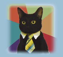 Business Cat One Piece - Short Sleeve