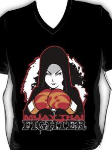 Muay Thai Girl Fighter T-Shirt