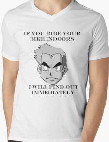 Professor Oak Says Mens V-Neck T-Shirt
