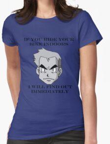 Professor Oak Says Womens Fitted T-Shirt