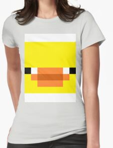 Minecraft Duck Womens Fitted T-Shirt