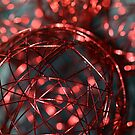 Red wire bauble by Fizzgig7