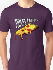 Trippy Drippy Pizza Shop T-Shirt