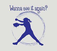 Wanna See It Again? blue Unisex T-Shirt