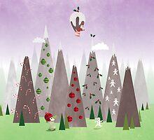 Christmas Mountain IV by Shiloh Longbottom