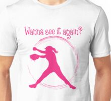 Wanna See It Again? melon Unisex T-Shirt