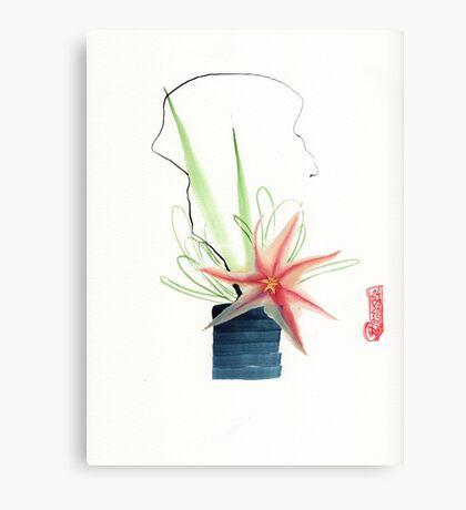 Ikebana 04 Canvas Print