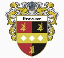 Browder Coat of Arms/Family Crest by William Martin