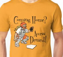 Access Denied, orange Unisex T-Shirt