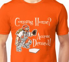 Access Denied, orange2 Unisex T-Shirt
