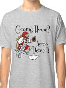 Access Denied, red Classic T-Shirt