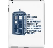 Doctor Who The Optimist iPad Case/Skin