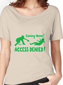 Access Denied2 , green Women's Relaxed Fit T-Shirt