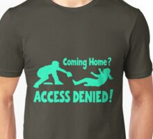 Access Denied2 , lt.blue Unisex T-Shirt