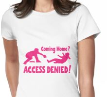 Access Denied2 , melon Womens Fitted T-Shirt