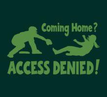 Access Denied2 , neon green by gotmoxy