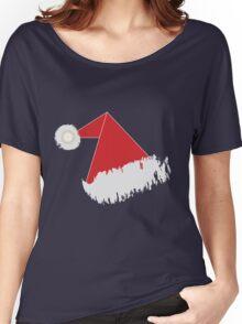 Santa 's hat T Shirt Women's Relaxed Fit T-Shirt