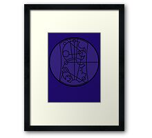 Certified Whovian T-Shirt Framed Print