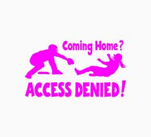 Access Denied2 , pink Womens Fitted T-Shirt