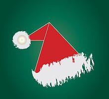 Santa 's hat iPad Case by feiermar