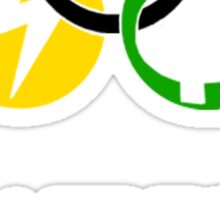 Pokemon Olympics Pallet Town 1998 Sticker