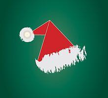 Santa 's hat Phone Case by feiermar