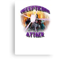 Decepticon's Attack! Canvas Print