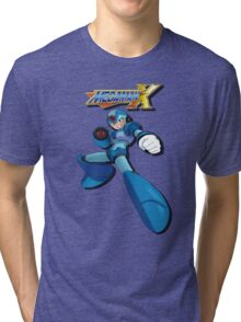Mega Man X Tri-blend T-Shirt