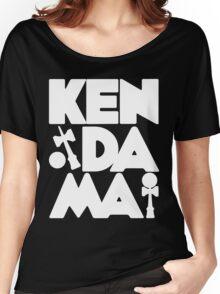 Kendama Block, white Women's Relaxed Fit T-Shirt
