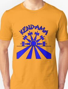 Kendama Sun, blue T-Shirt