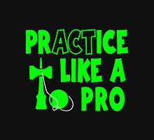 Practice Like a Pro, neon green Hoodie