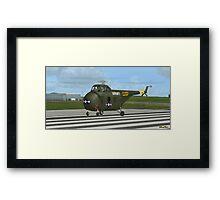 Sikorsky H-19 Chickasaw Framed Print