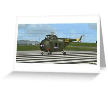 Sikorsky H-19 Chickasaw Greeting Card