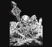 Zombie Graveyard by apocalypsebob