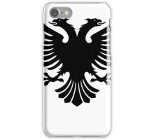Albanian two headed eagle sigil iPhone Case/Skin