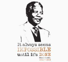 Nelson Mandela - 1918 to 2013 by foofighters69