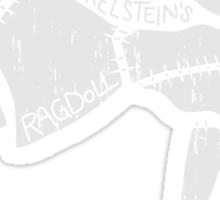 Anatomy of a Ragdoll Sticker