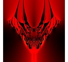 Red Evil Photographic Print