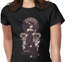 The Sound of Her Wings Womens Fitted T-Shirt