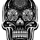 Sugar Skull - Digital Print by Arek619