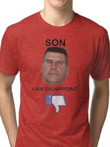 Much Disapoint Tri-blend T-Shirt
