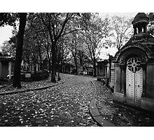 Cimetière du Père Lachaise - Paris 2013 Photographic Print