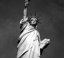 Statue of Liberty @ Liberty Island, New York. by gkhmeow
