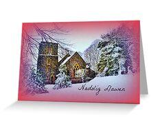 St Anne's Church, Talygarn - Cerdyn Nadolig Greeting Card