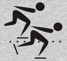 Speed Skating Icon by cadellin